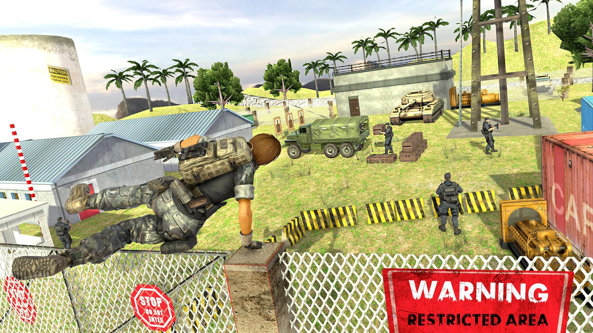 Fps Army Commando Mission: Free Action Games for Android