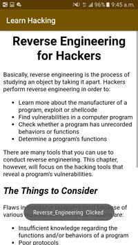Learn Hacking for begenners screenshot 2