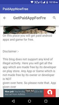 Paid Apps Now Free - PANF(Get Paid app genuinely). screenshot 2