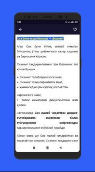O`ziga Ishongan Inson Bo`lish sirlari kitobi poster