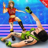 Girls Ring Wrestling Pro Fighting Games