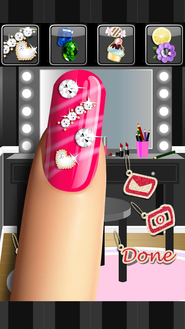 Glitter Nail Salon: Girls Game for Android - APK Download