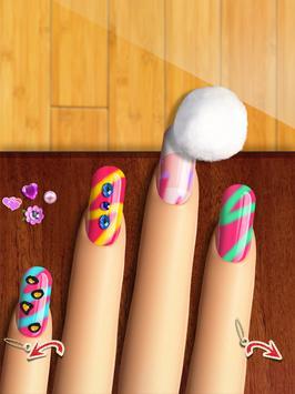 Glow Nails: Manicure Nail Salon Game for Girls™ screenshot 7