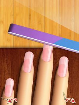 Glow Nails: Manicure Nail Salon Game for Girls™ screenshot 9