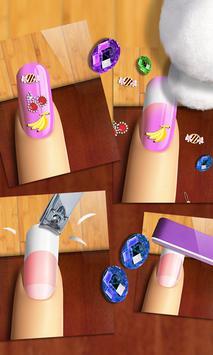 Glow Nails: Manicure Nail Salon Game for Girls™ screenshot 16
