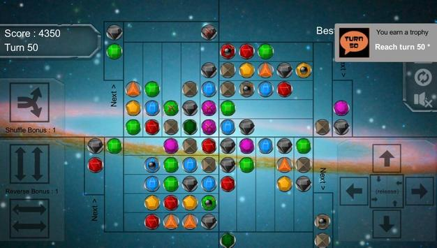 Gravity Match-3 - MATCH 3 JEWEL PUZZLE GAME poster