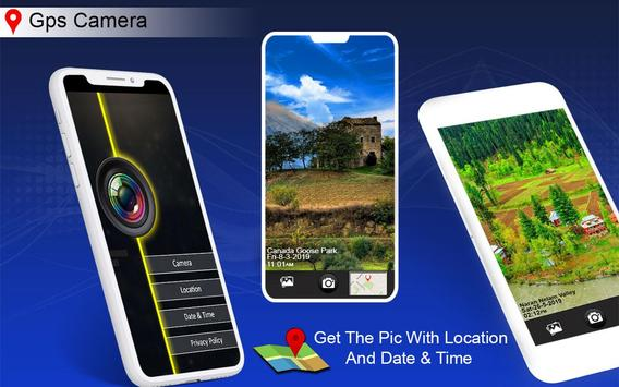 GPS Map Camera - Auto Date Time, Photo Location poster