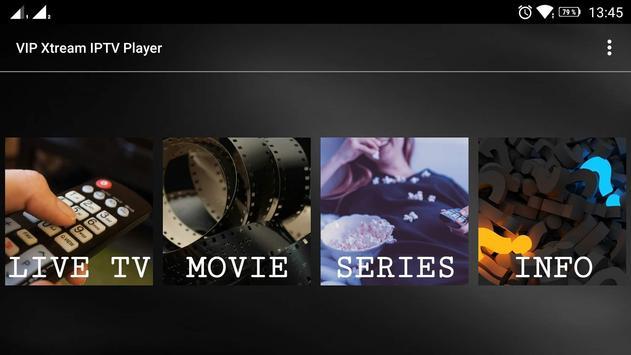 VIP Xtream IPTV Player screenshot 1