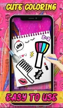 Beauty Coloring Book - Fashion & Accessories screenshot 4