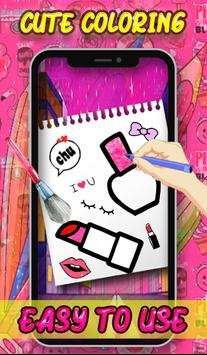 Beauty Coloring Book - Fashion & Accessories poster