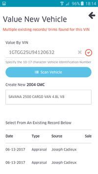 Accu-Trade Appraiser screenshot 1