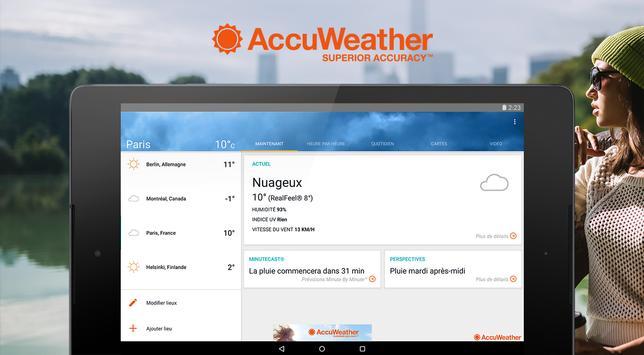 AccuWeather capture d'écran 5