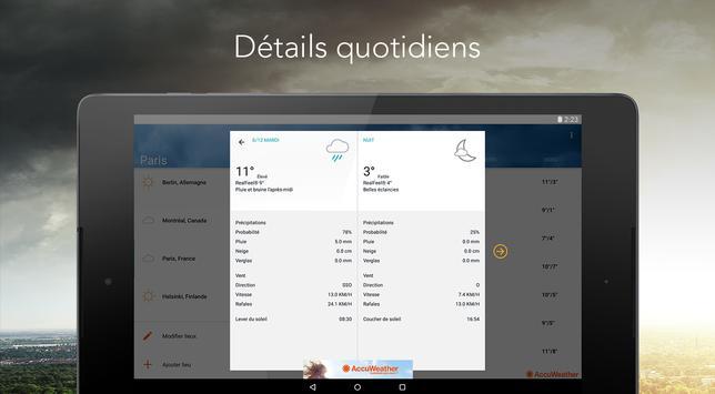 AccuWeather capture d'écran 9