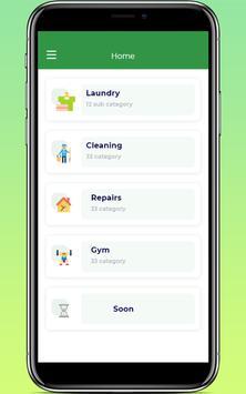 General House service & laundry screenshot 3
