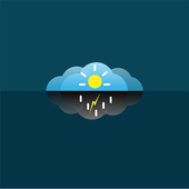 Amazing accurate weather forecast icon