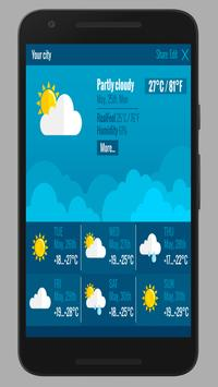Amazing accurate weather forecast screenshot 2