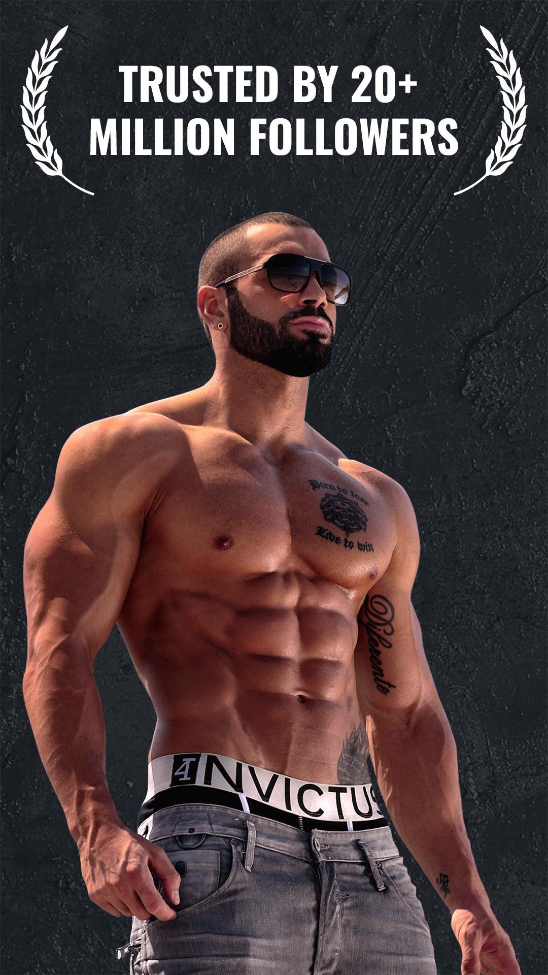 Lazar Angelov Abs Workout