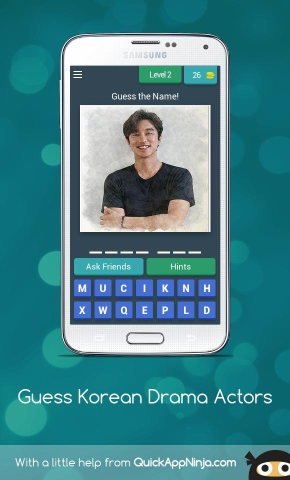Guess Korean Drama Actors for Android - APK Download