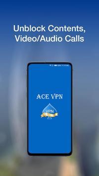 Ace VPN - A Fast, Unlimited Free VPN  Proxy screenshot 1