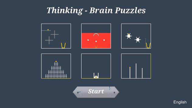 Thinking - Brain Puzzles poster