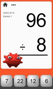 Monster Math Flash Cards Lite screenshot 4