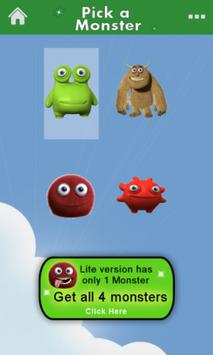 Monster Math Flash Cards Lite screenshot 5