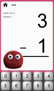 Monster Math Flash Cards Lite screenshot 3