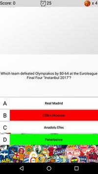 Basketball Quiz screenshot 4