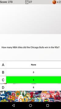 Basketball Quiz screenshot 3