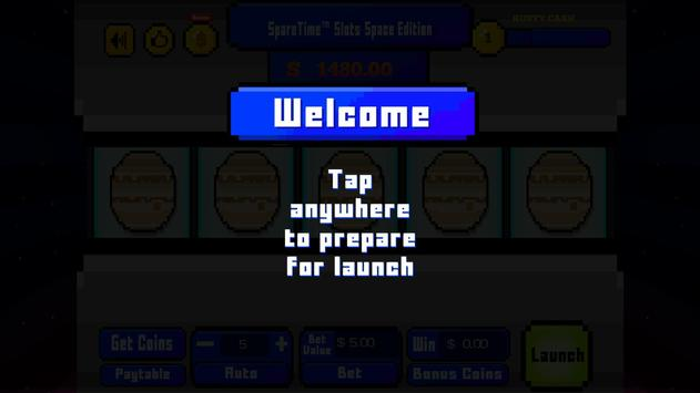 SpareTime™ Slots Space Edition screenshot 1