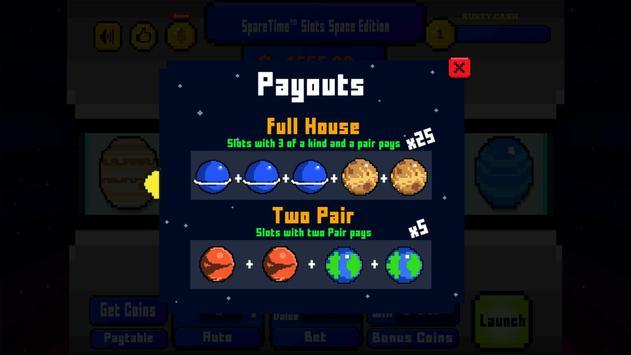SpareTime™ Slots Space Edition screenshot 5