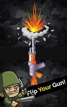 Flipping Gun Casual poster