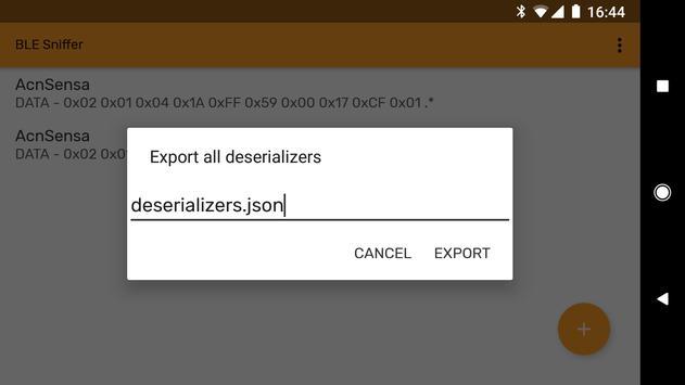 Sniffer screenshot 3