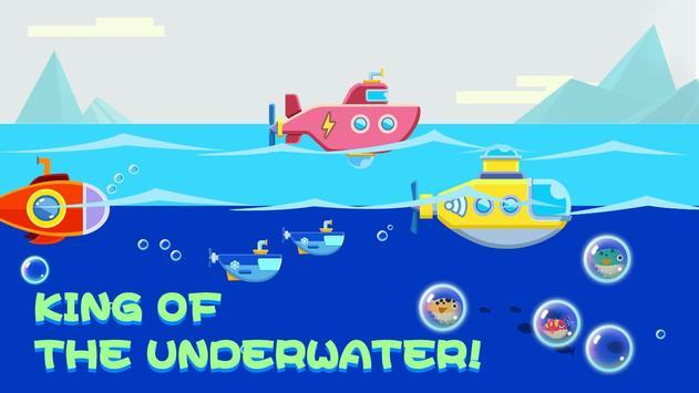 Submarine — Underwater Adventure poster