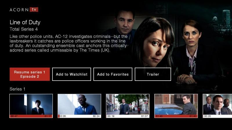 Acorn TV: World-class TV from Britain and Beyond cho Android