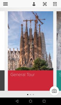 Sagrada Familia App poster
