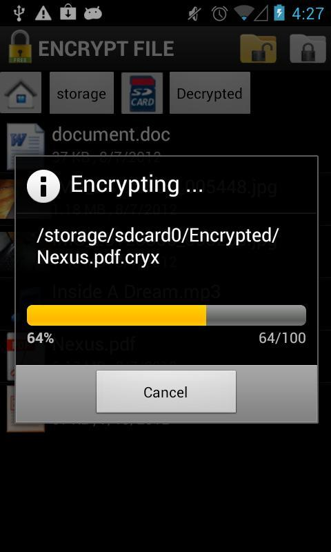 Encrypt File Free for Android - APK Download