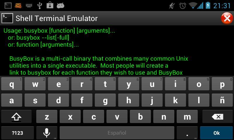 Shell Terminal Emulator for Android - APK Download
