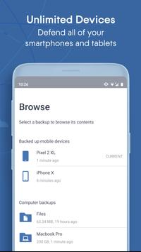 Acronis True Image: Mobile screenshot 3