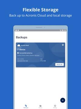 Acronis True Image: Mobile screenshot 10