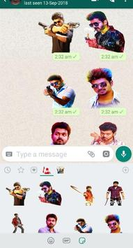 Vijay - Stickers for WhatsApp poster
