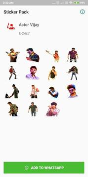 Vijay - Stickers for WhatsApp screenshot 1