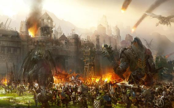 Legacy Of Warrior: игра RPG игры постер