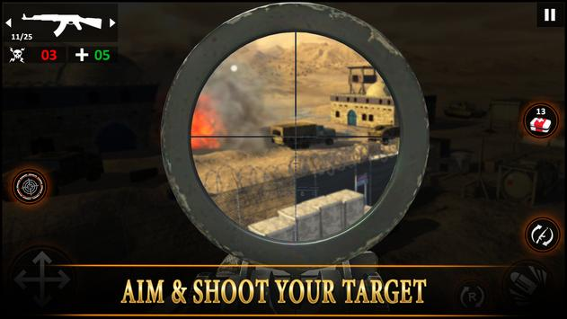 Special Ops Impossible Desert Sniper Missions 2019 screenshot 3