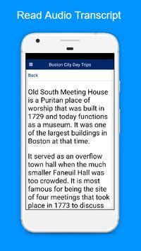 Boston Tours screenshot 3