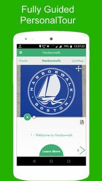 Harborwalk Tour Guide poster