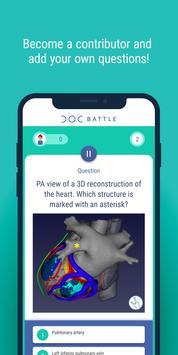 DocBattle - Cardiology, learning and fun... screenshot 5