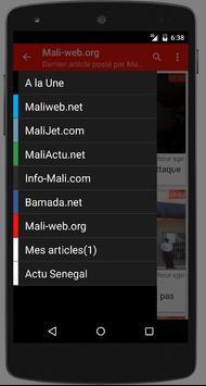 Mali : Actualité au Mali screenshot 1