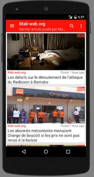 Mali : Actualité au Mali screenshot 2