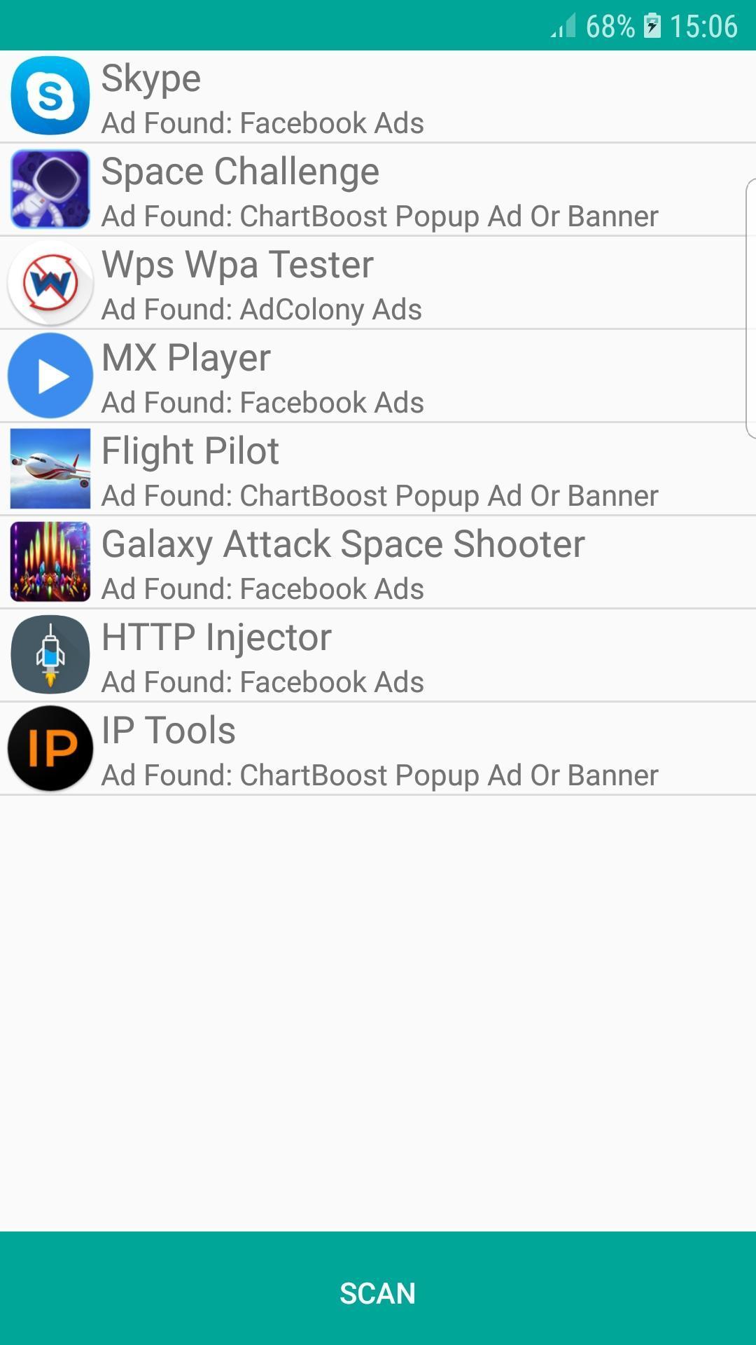 Airpush android virus